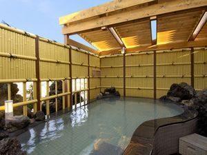 籠原屋上露天風呂